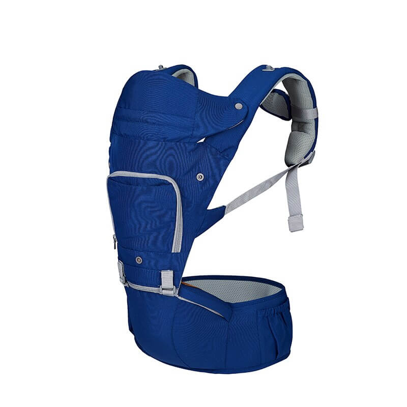Blue Cotton Baby Sling