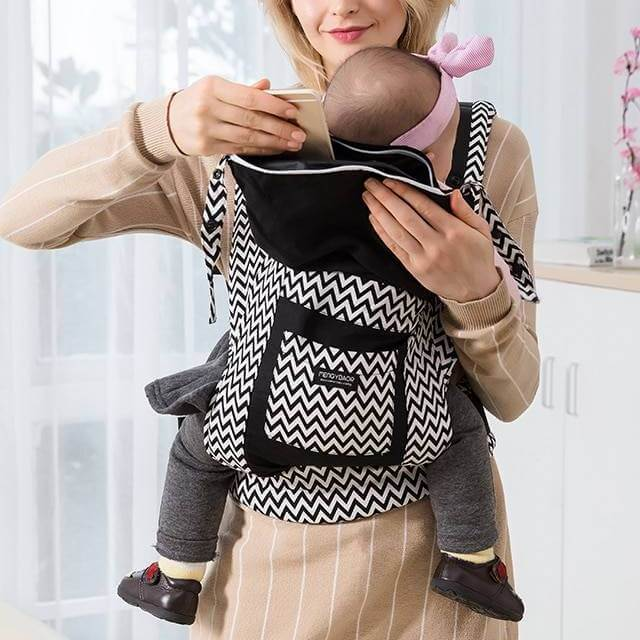 Printed Cotton Baby Carrier