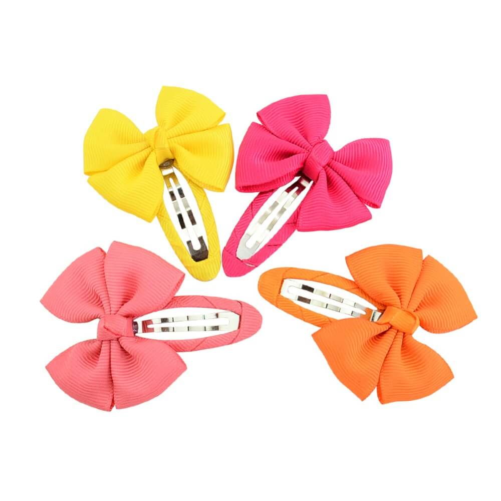 Baby's Candy Colors Hair Clips Pair